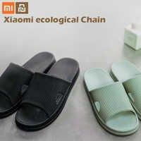 Xiaomi mijia pantoufles doux dames homme enfants bain sandales enfants chaussures décontractées antidérapant maison douche pantoufles