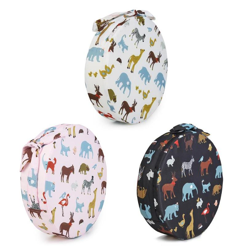 Kids Round Detachable Dining Chair Cushion Baby Furniture Booster Seats Mat Inafnt Hight Increased Chair Pad Anti-skid Cushion