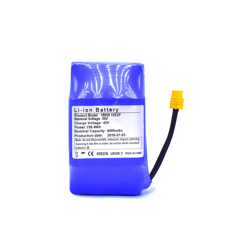 36 V 4.4AH batterie rechargeable batterie au lithium batterie paquet 4400 mah lithium ion batterie balance électrique planche à roulettes hoverboard