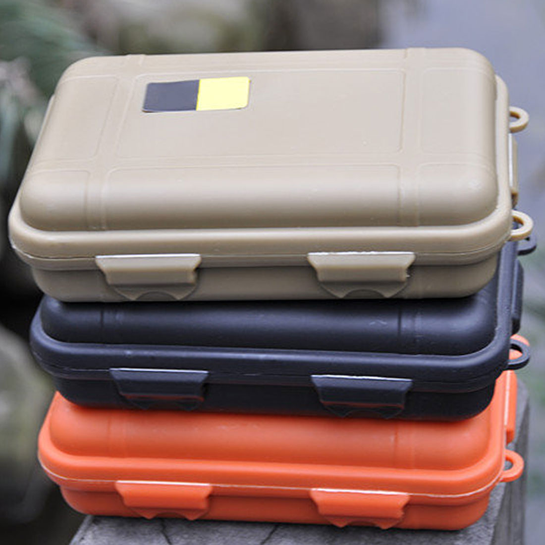 Outdoor Shockproof And Anti-pressure Waterproof Box Wild Survival Storage Box Waterproof Warehouse Sealed Box