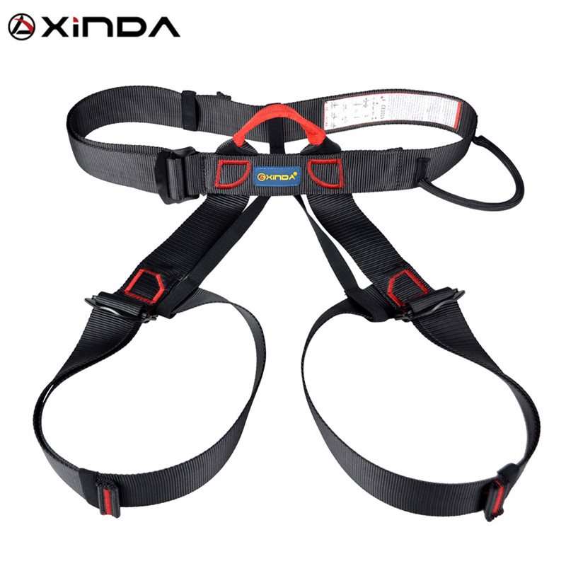 Outdoor Sports Hiking Climbing Protective Harness Safety Harness Sit Body Waist Belt Roof Construction Aerial Survival Equipment