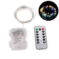 Decorative Tree Remote LED approx use Lights Total Xmas with Control 5meters Lights batteries New AA 3 Wedding Christmas