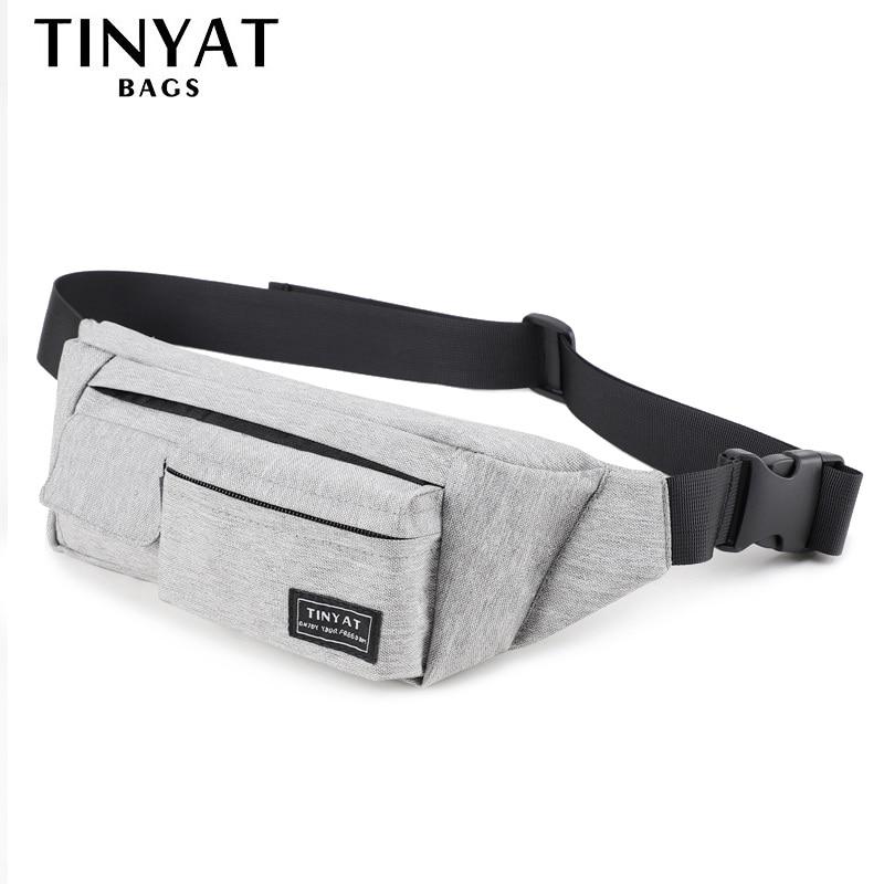 TINYAT Belt bag Men Women Waist bag pack Travel font b Phone b font Belt Pouch