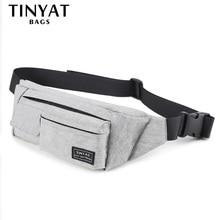 TINYAT Для мужчин Для женщин поясная сумка кошелек Для женщин женские Водонепроницаемый телефон ремень сумка кошелек 4 кармана большой Фанни чемоданчик сумка на пояс мужская