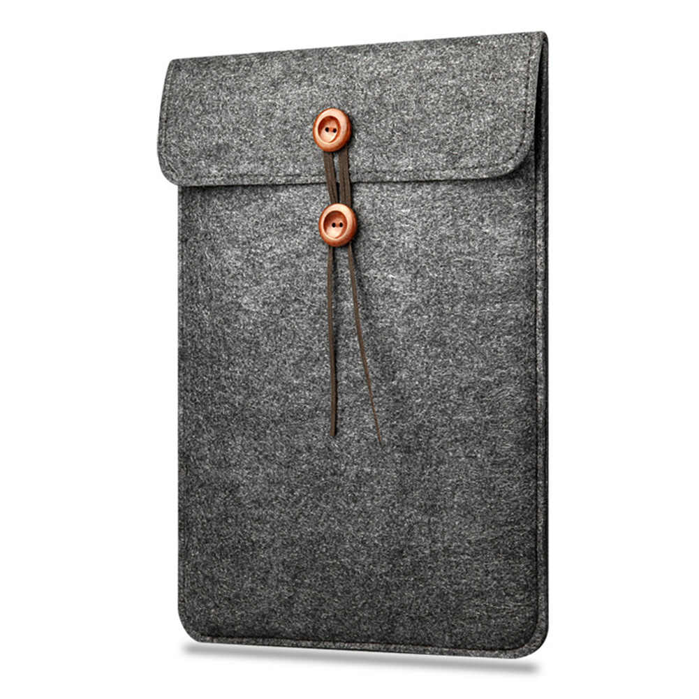 Groothandel Nieuwe Soft Sleeve Bag Case Voor Apple Macbook Air Pro Retina 11 12 13 15 Laptop Touch Bar Cover voor Mac boek 13.3 inch