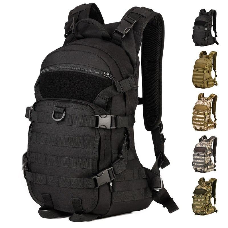 Sports randonnée Pack ordinateur portable école sacs à dos multifonction Gym équitation sac à dos léger extérieur voyage Camping tactique sac 25L