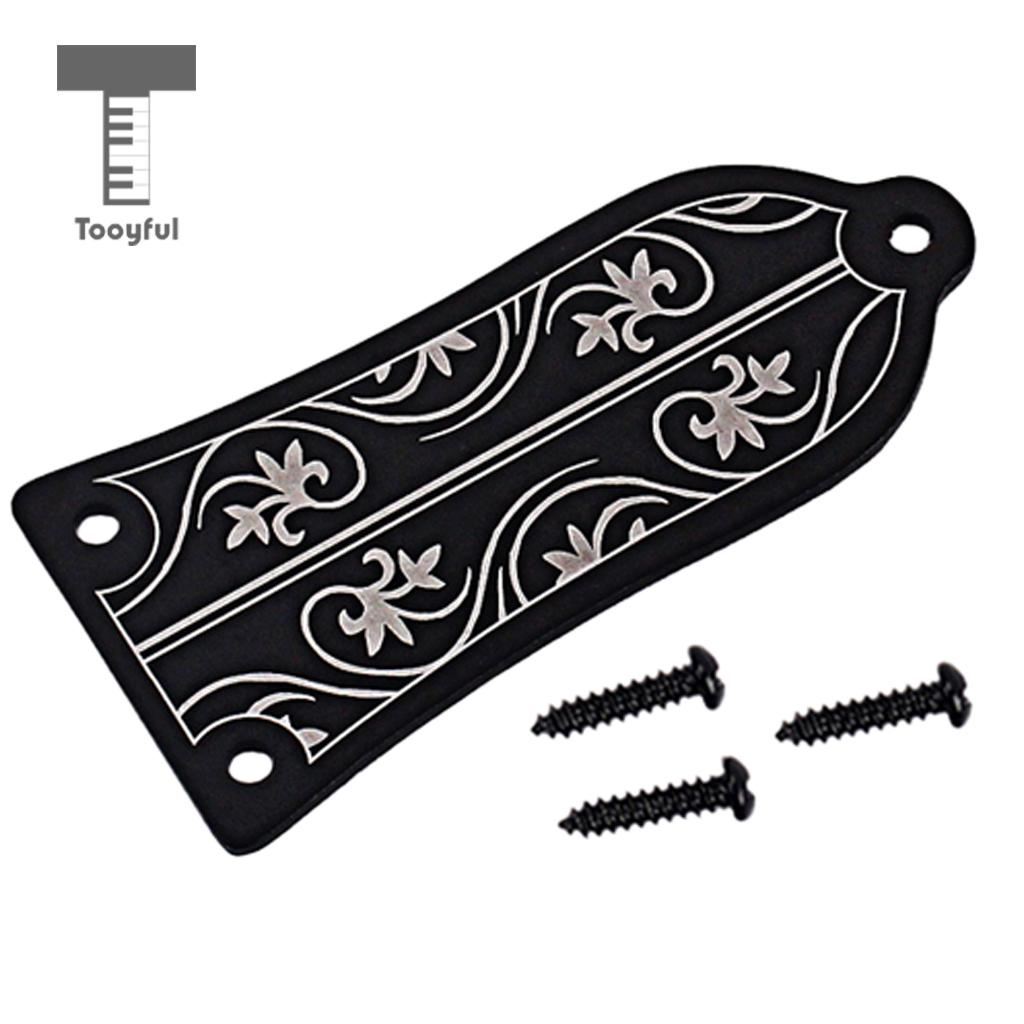 Tooyful Durable Alloy Bell Shape Truss Rod Cover For Les Paul Electric Guitar DIY Parts