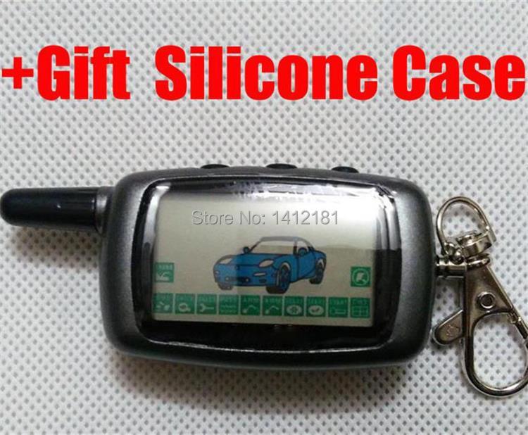 A9 2-weg LCD Fernbedienung Schlüssel Fob Keychain für Fahrzeug Sicherheit Zwei weg auto alarm Anti-diebstahl system Twage StarLine A9 A6