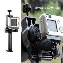 Suporte adaptador universal para câmera gopro, suporte para mira telescópica digital