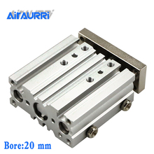 MGPM20-25-50-75-100-125-150-175-200-250-300-350-400-500 SMC size Compact Guide Cylinder