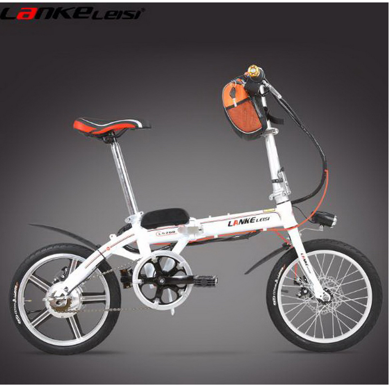 tb311108/Electric Bicycle 16 inch mini portable lithium battery electric car /36V adult electric bikes/Electrostatic paint