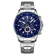 MEGALITH Fashion Watches For Mens Waterproof Chronograph Cal