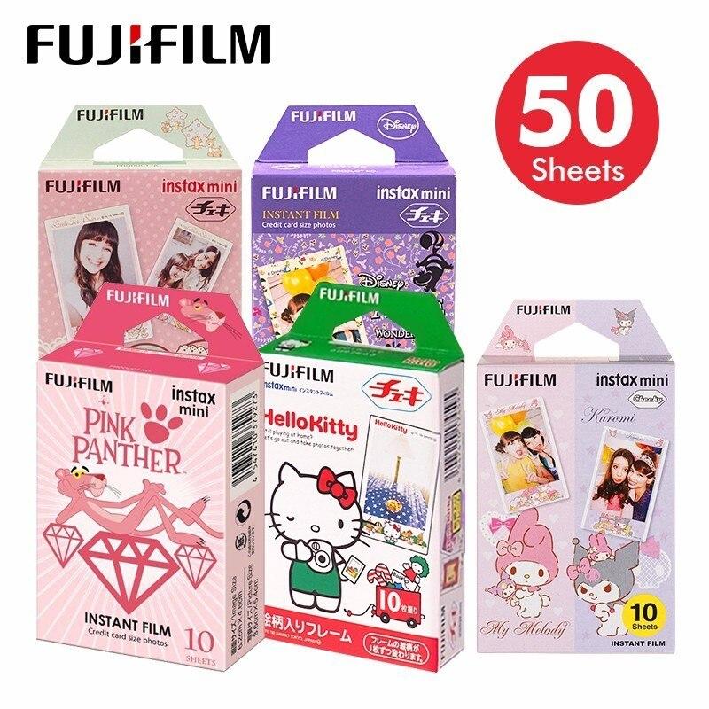 Fujifilm Original Fuji Instax Mini 8 Film 10 feuilles pour 70 50 s 7 s 90 25 partager SP-1 appareils photo instantanés nouvelle arrivée