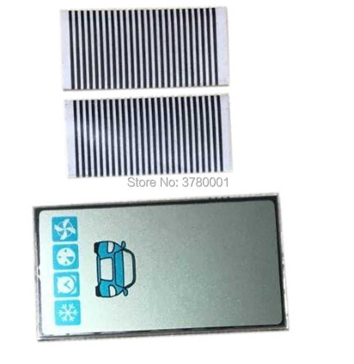 100 шт./лот A93 GSM ЖК-дисплей гибкий кабель с ПВХ изоляцией для российских starline A93 компакт-дисков пульт дистанционного управления брелок для ключей с подкладкой Автомобильная сигнализация