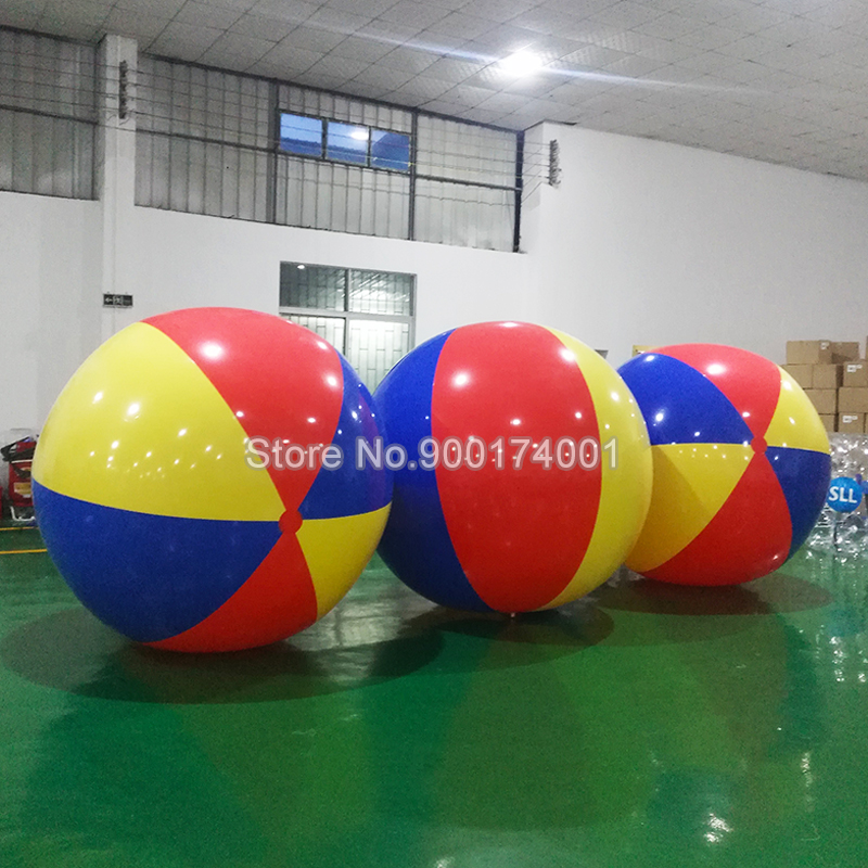 Hot Sale Inflatable Beach Ball Large Inflatable Thickened Volleyball Beach Pool Play Parent child Outdoor Entertainment