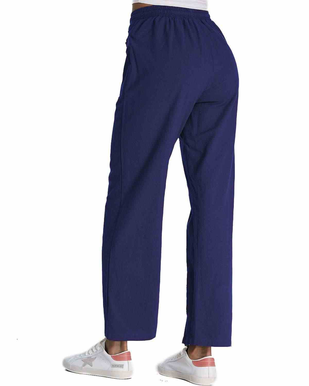 ZANZEA элистичные, средней, посадки широкие брюки для женщин Повседневное хлопковые свободные длинные Mujer плюс размеры