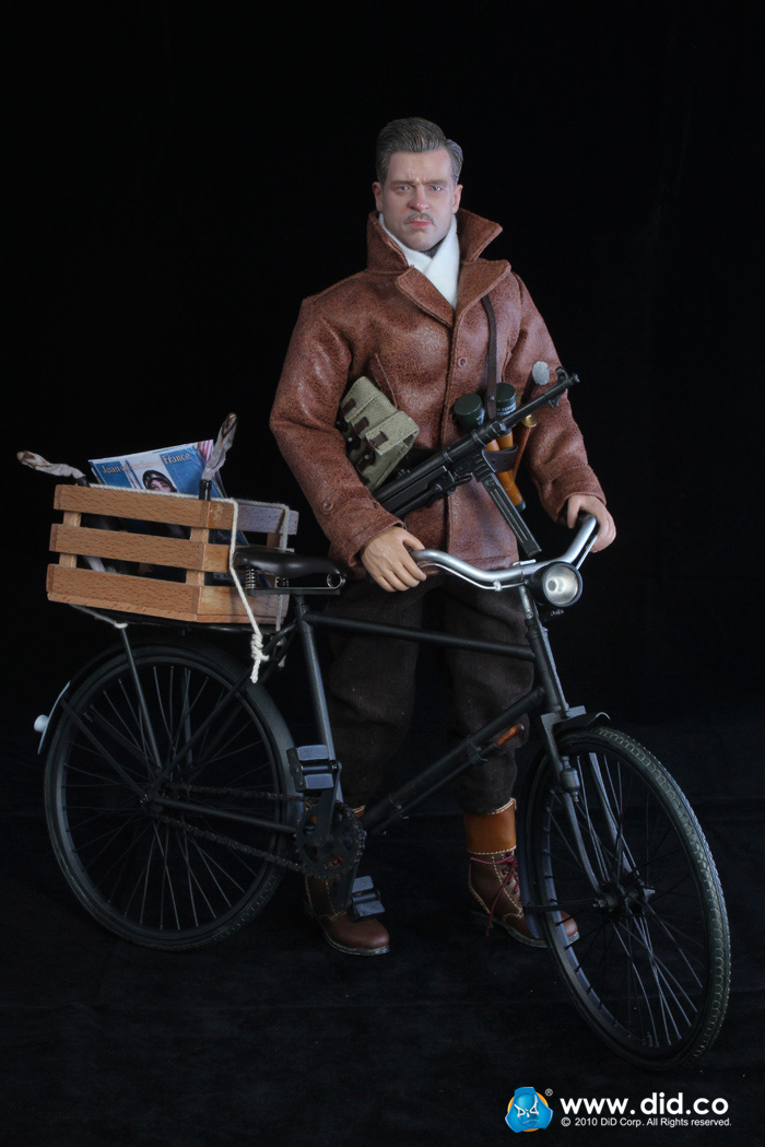 1/6 Scale Cycling soldiers Pete Action Figure Set F80078 French resistance organization Toys Model Collection1/6 Scale Cycling soldiers Pete Action Figure Set F80078 French resistance organization Toys Model Collection