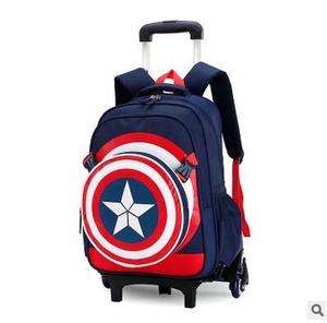 Image 3 - Travel bags for kid Boys Trolley School backpack wheeled bag for School Trolley bag On wheels School Rolling backpacks