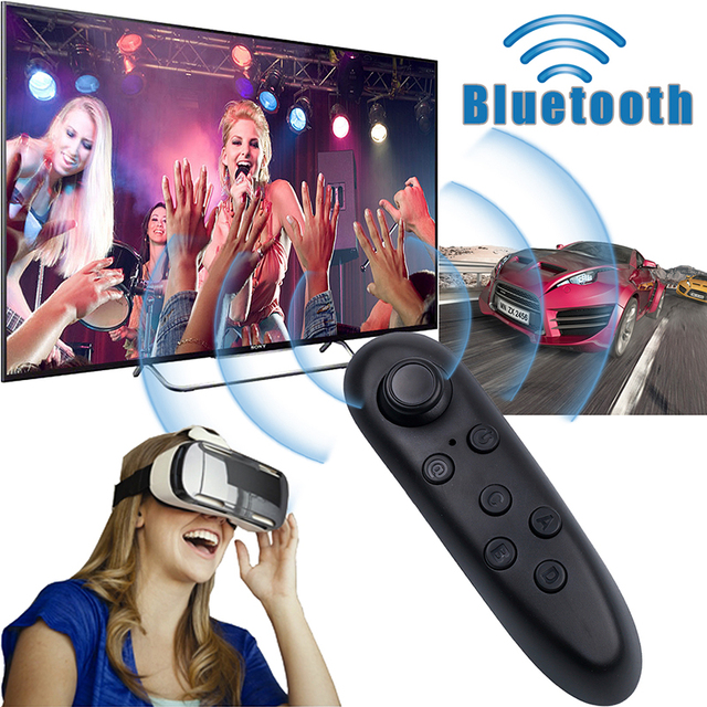 Kebidu Mini Wireless Bluetooth Gamepad Universal Game Controller Joystick For Android PC Smartphone For VR BOX 3D games