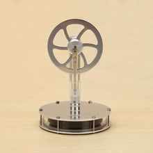 Stirling Engine Model Low Temperature Difference Magnetic Motor Model Kit For Pediatric Science Experiments цена