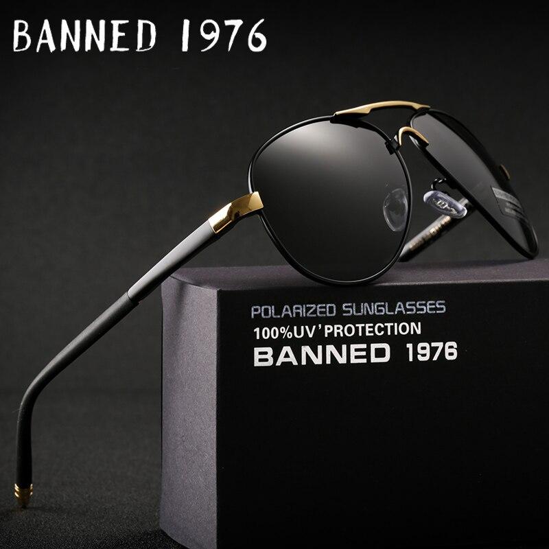 2018 HD Polarized UV 400 Óculos De Sol da marca dos homens novos do sexo masculino legal de condução Óculos de Sol condução óculos gafas de sol máscaras com caixa