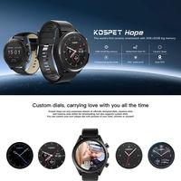 Горячая 3G + 32G 4G LTE SmWatch 1,39 'AMOLED wifi gps/ГЛОНАСС 8MP Android7.1.1 мужские умные часы