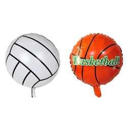 18 дюймов Баскетбол волейбол Футбол Форма алюминиевая фольга Воздушные шары Гелий шары День рождения пляж украшения празднование