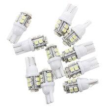 10 x T10 168 194 W5W Car White High Power SMD 10 LED Wedge Light Bulb Lamp 12V patriot pa 445 t10 x treme