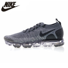 Nike Air VaporMax Flyknit 2.0W Men Running Shoes Shock Absorbing Breathable Lightweight Sneakers #942843-002 цена
