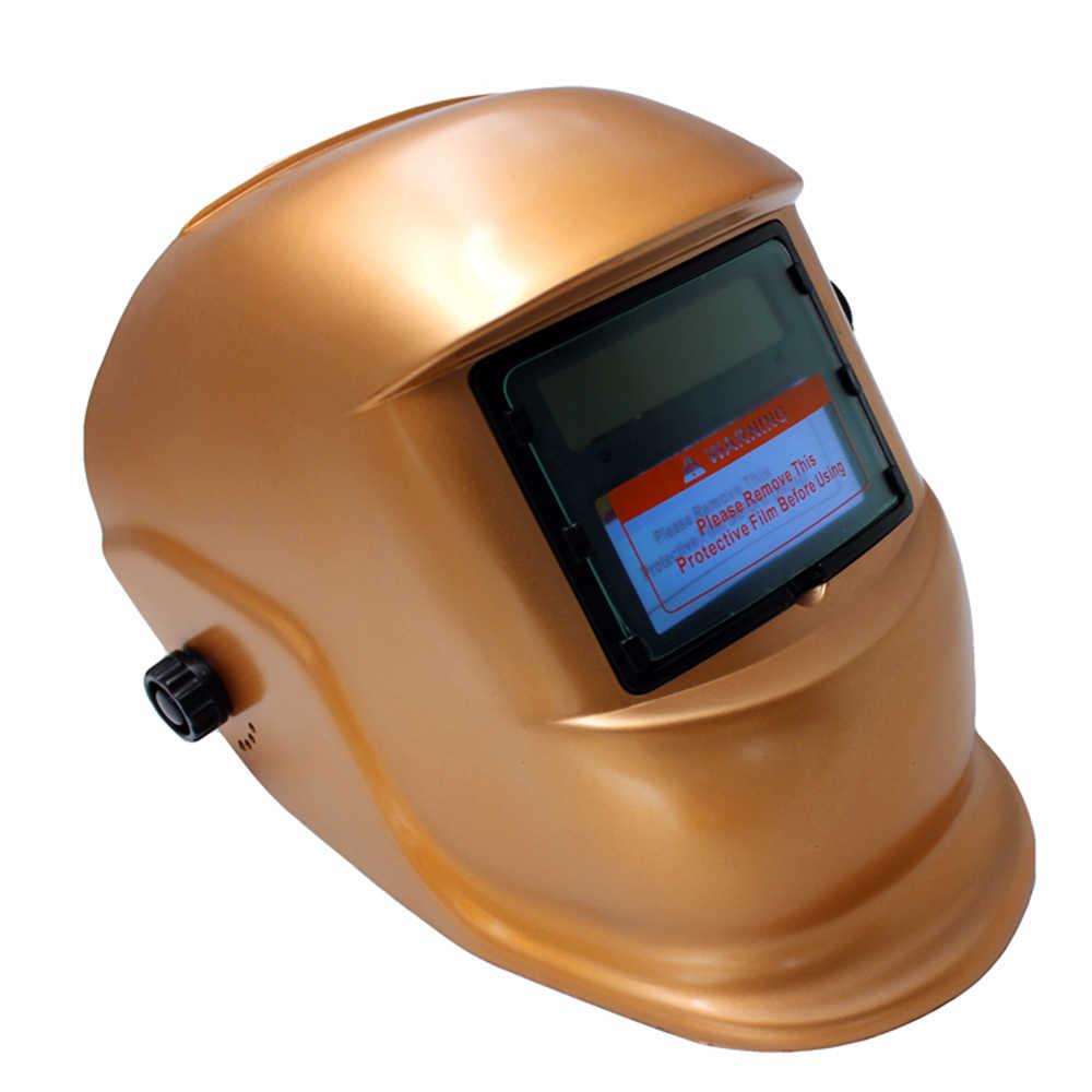 Сварочный шлем с солнечной батареей автоматическая Затемняющая бленда