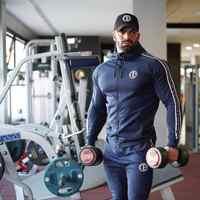 Nouveau hommes course formation musculation costume mâle Jogging ensemble de vêtements de sport Fitness Gym survêtements Hoodies + pantalon entraînement vêtements