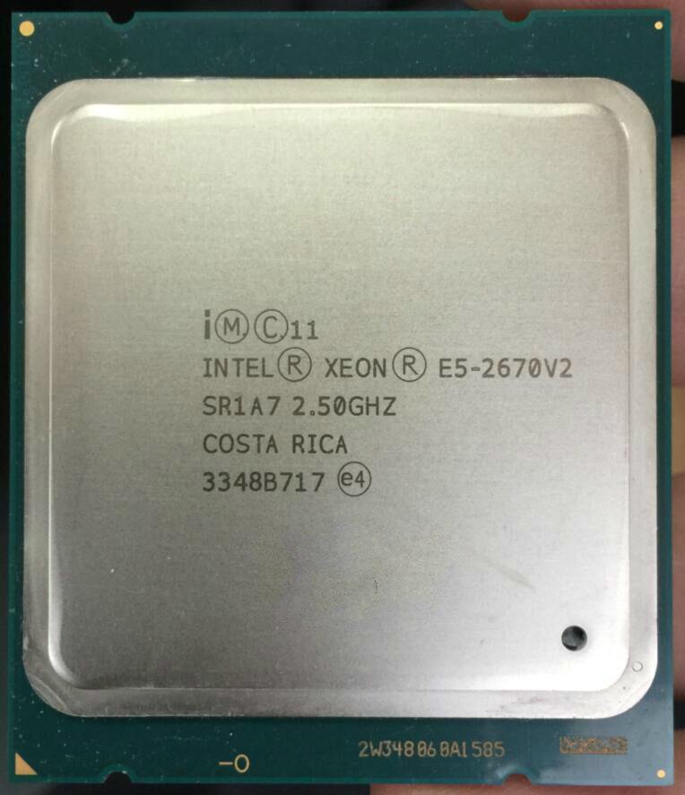 intel Xeon E5-2650 V2 E5-2667 E5-2667 V2 E5-2670 E5-2670 V2 CPU Processor
