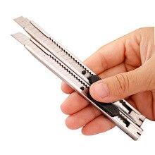 Металлический художественный нож функциональный нож товары для рукоделия бумага и офис DIY Художественный резак нож Канцелярские Школьные салфетка резак инструменты