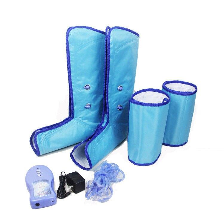 Pression d'air jambe cuisse masseur thérapie Massage jambes santé pression Circulation manchette manchon de compression pour calmer les jambes fatiguées