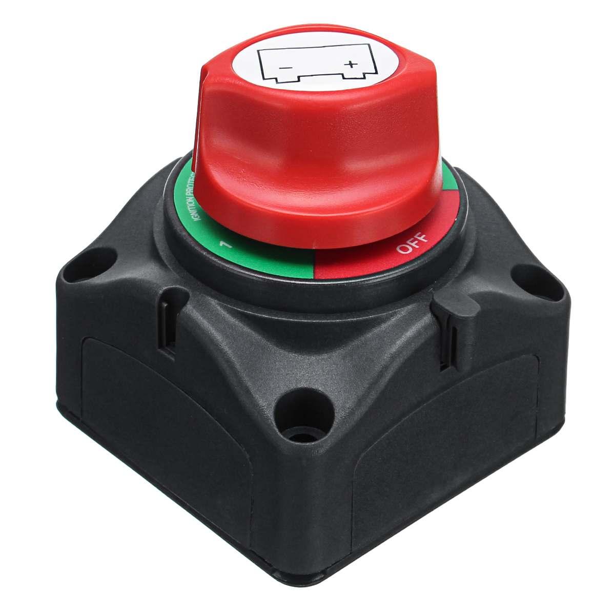 12 V/24 V Marine interrupteur de batterie isolateur 300A 4 positions commutateur de coupure de déconnexion pour voiture bateau Yacht livraison gratuite