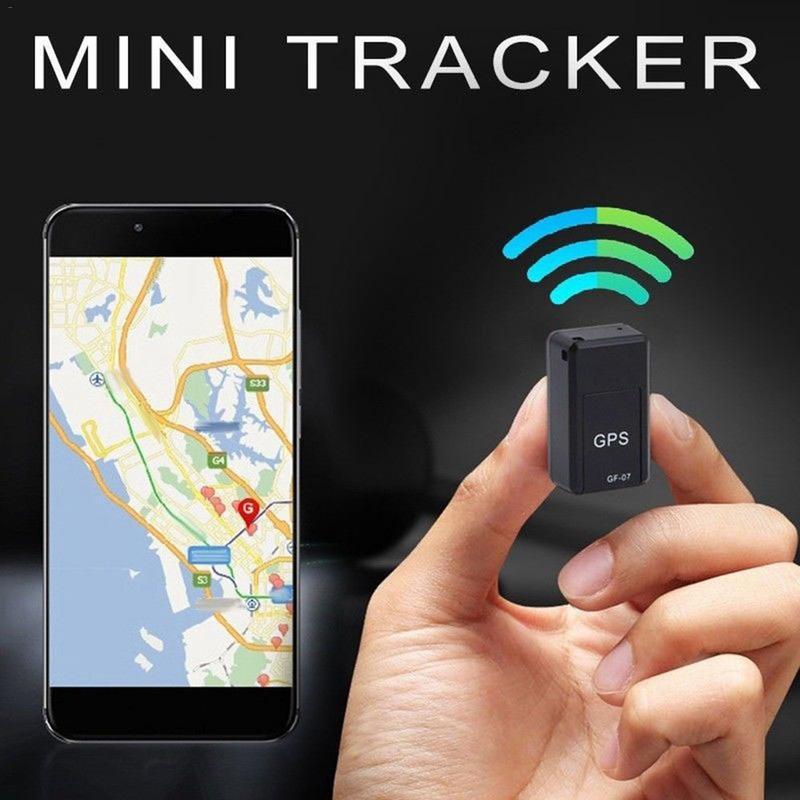 Mini GPS Tracker Do Veículo Objeto Magnético Forte Instalação Gratuita de Rastreamento GPS Localizador De Rastreamento Pessoal Anti Perdido Tracer GF-07