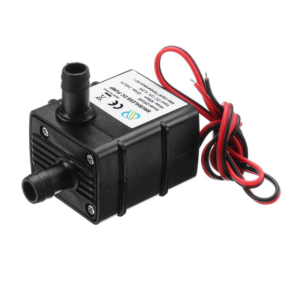 Pumpen Rational Qr30e Ultra-ruhigen Mini Bürstenlosen Pumpe Dc 12 V 4,2 Watt 240l/h Fluss Rate Tauch Wasser Pumpen