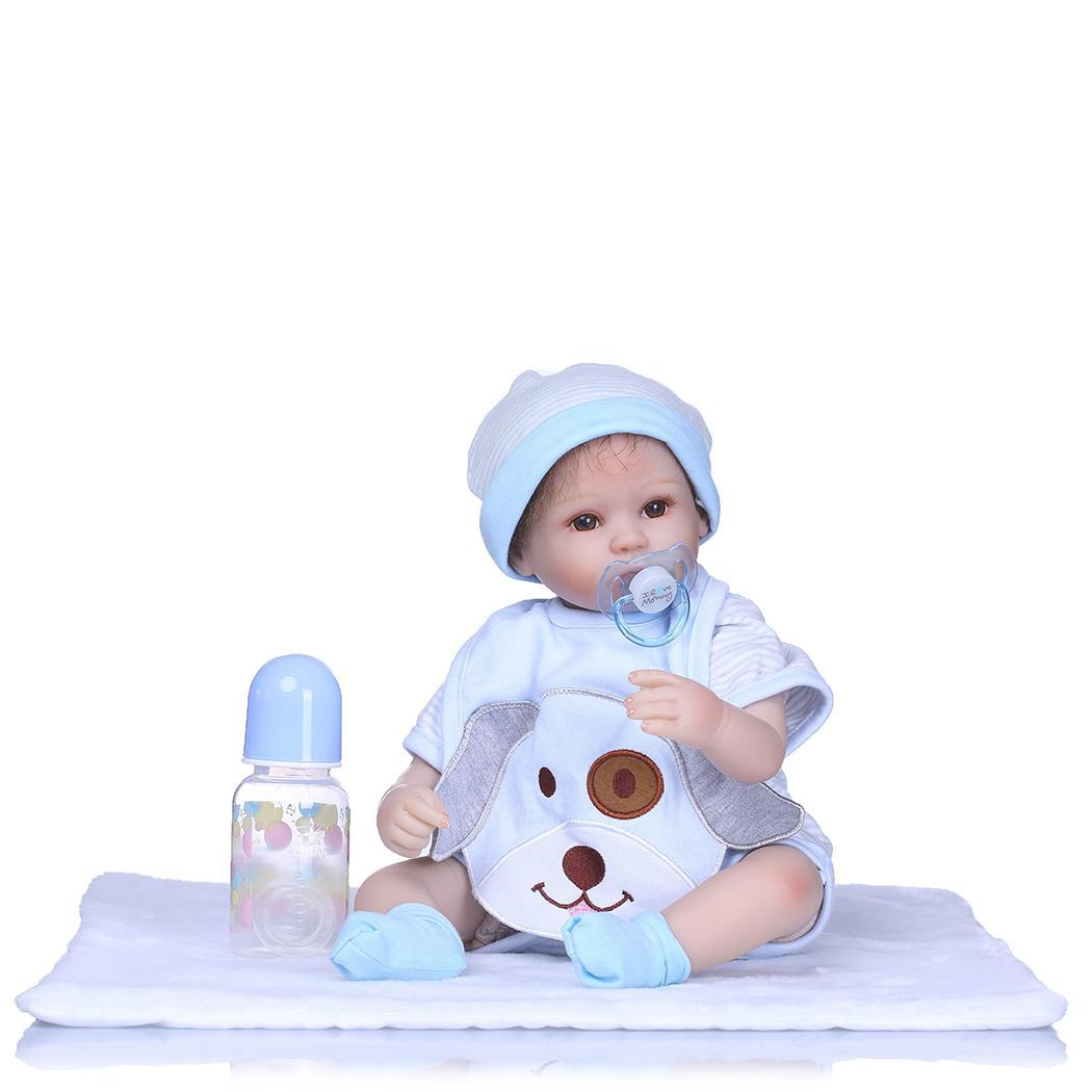 Kids Soft Silicone Realistic With Clothes Unisex Reborn 2-4Years Baby Dollv Collectibles, Gift, PlaymateKids Soft Silicone Realistic With Clothes Unisex Reborn 2-4Years Baby Dollv Collectibles, Gift, Playmate