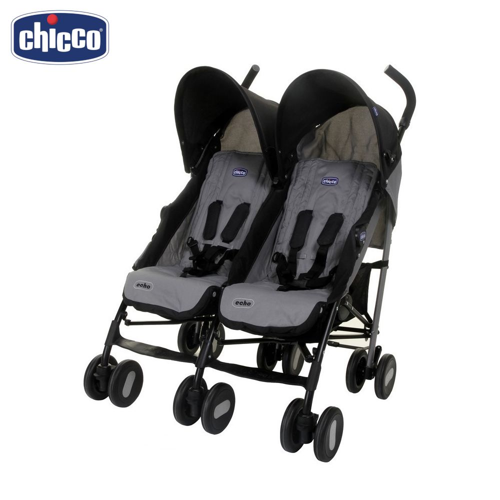 Mutiple  Stroller Chicco Echo Twin Stroller 14506 Activity Gear Baby wheel-chair for children newborn strollers for two children free shipping multi function children eat chair the baby chair distribution castor