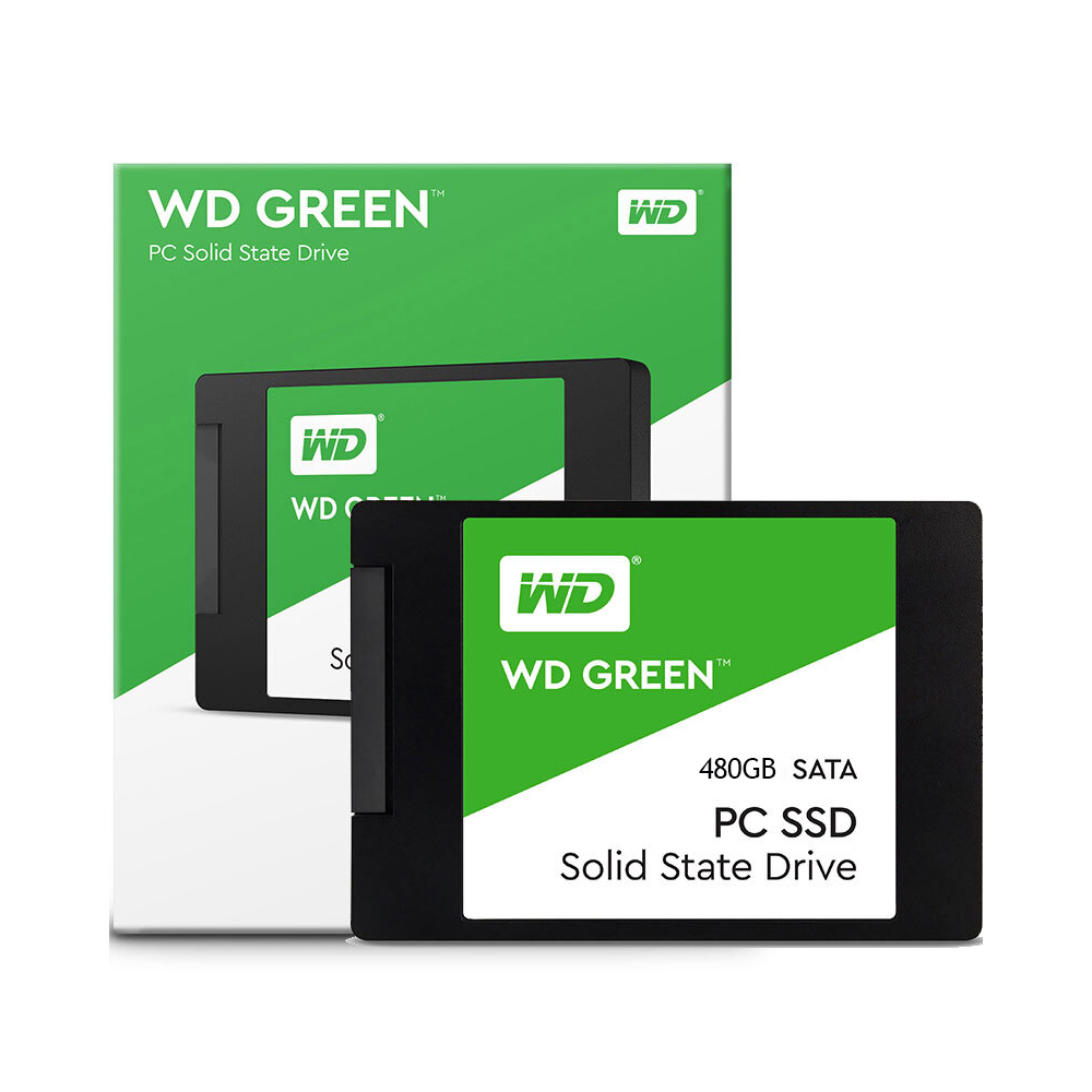 WD Green SSD 120 GB 240 GB 480 GB PC ordinateur portable SSD SATA 6 GB/s 2.5in disque dur à semi-conducteurs interne HDD (WDS240G1G0A)