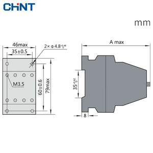 Image 2 - CHINT Contactor Relay Contact Type Relay JZC1 44 Middle Relay AC220V 4 Open 4 Close