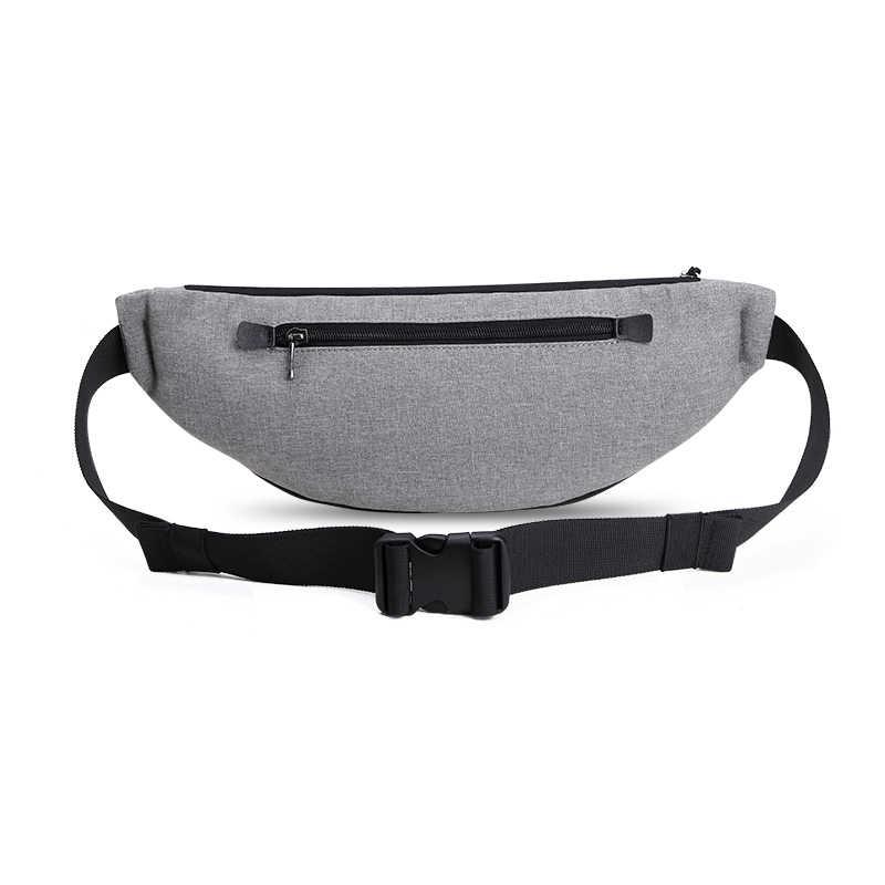 Héroïque Knight hommes taille sac étanche Pack voyage téléphone ceinture sac pochette décontracté épaule poitrine sac Fanny pack Hip pack