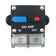 Car MC Audio Circuit Breaker 12V 300 AMP Accepts 0/2 2 4 6 8 Gauge Wire