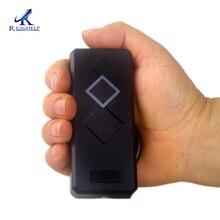 Realhelp Lector de tarjetas de acceso MINI, a prueba de agua IP65, 125 kHz, Wiegand26 RFID, lector de tarjetas para placa de control de acceso