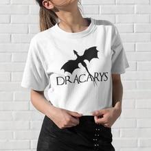 Dracarys T-shirt Cotton Tumblr Grunge Harajuku Tee Shirt