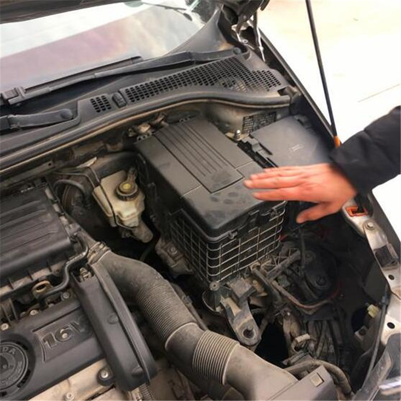 Batería de motor de coche a prueba de polvo cubierta impermeable para Skoda Kodiaq Octavia Tiguan Touran Golf 6 Sportsvan|Bandejas de baterías|   - AliExpress