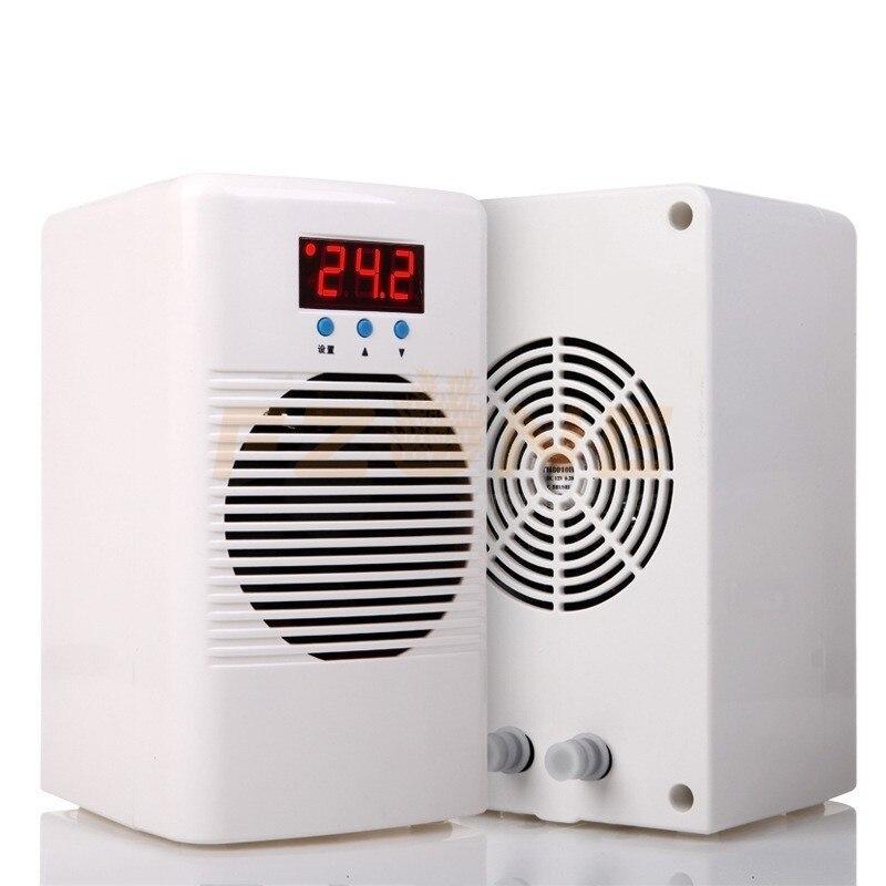 110-240V refroidisseur d'eau et refroidisseur d'aquarium plus chaud pour moins de 20L réservoir marin récif de corail réservoir de crevettes conditionneur de température de l'eau