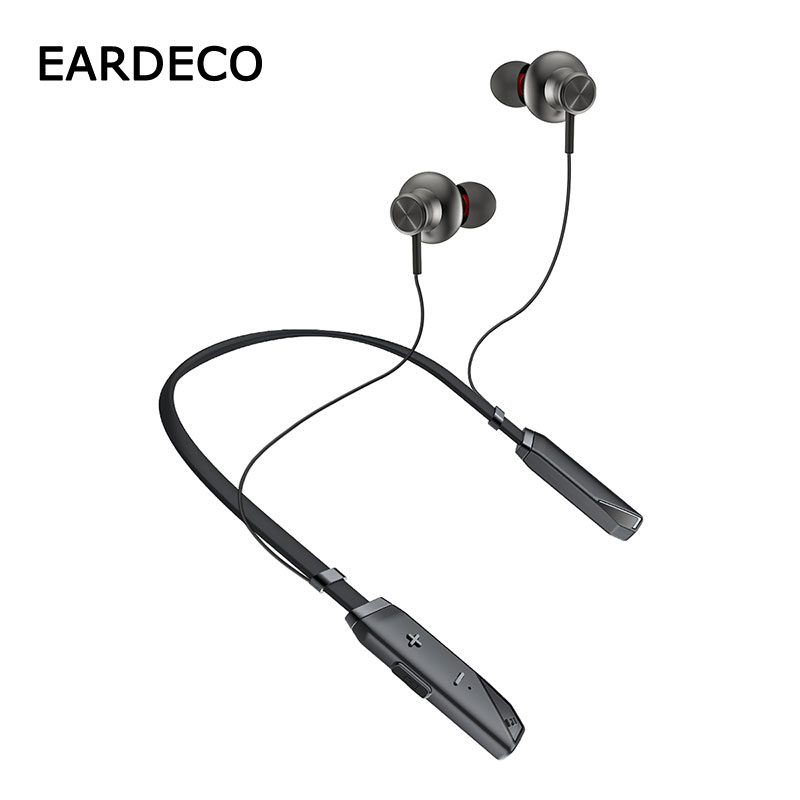 EARDECO Large Battery Wireless Headphones Sport Stereo Bluetooth Earphone Headphone with mic Ear Bass Earphones Earbuds Headset in Bluetooth Earphones Headphones from Consumer Electronics
