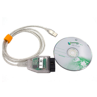 Obd2 Usb Interface For Bmw-Inpa / Ediabas-K + Dcan Allows Full Diagnosic Cable For Bmw From 1998 To 2008