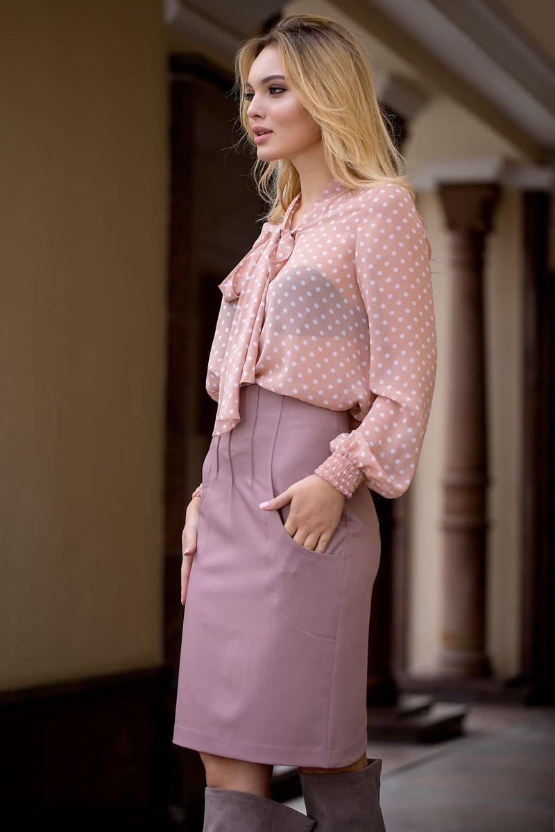 Skirt 2401800-46 plaid pencil skirt
